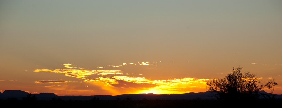 Kofa NWR Sunrise