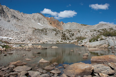 One of the Upper Hopkins Lakes.